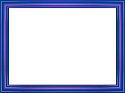 3d Border Picture by Indigo Embossed Frame Rectangular Powerpoint