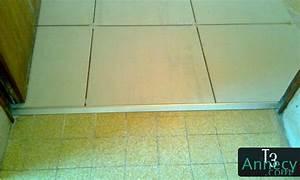 zoom sur le seuil de porte d39entree With carrelage seuil de porte exterieur