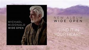Michael McDonald - Find it in Your Heart (Official Audio ...