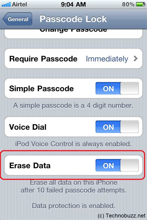 to delete data on iphone auto erase your iphone data after 10 failed passcode attempts