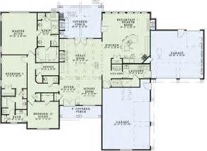 4 bedroom floor plans one story ranch house plans with 4 car garage