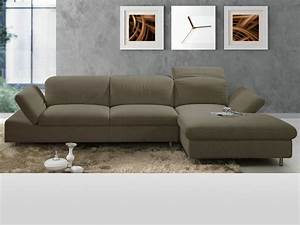 canape d39angle tissu quotjoanaquot taupe 53834 53842 With canapé d angle taupe tissu