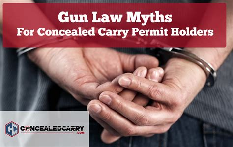10 Common Gun Law Myths For Concealed Carry