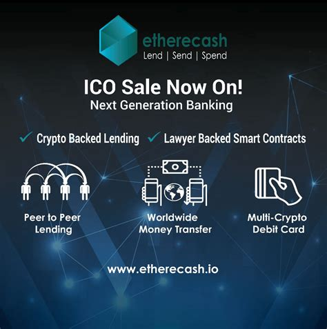 Bitcoin has revolutionized the capital loan markets. Blockchain P2P Lending, Sending, and Spending: Etherecash Garners Support From Over 40,000 ...