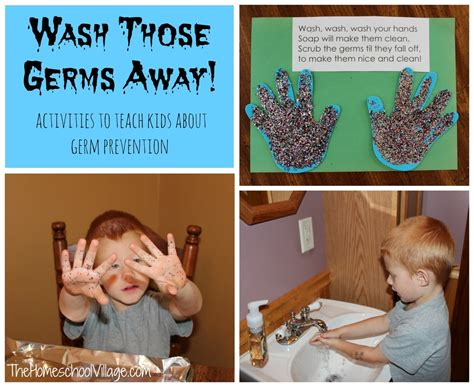 hand washing games for preschoolers wash those germs away the homeschool 576