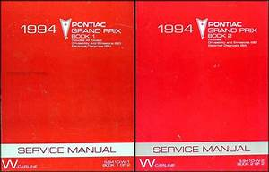 1994 Pontiac Grand Prix Repair Shop Manual Se Gt Gtp 94
