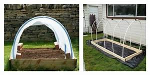 Fabriquer Une Serre En Bois : tunnel de jardin la serre pratique et conomique ~ Melissatoandfro.com Idées de Décoration