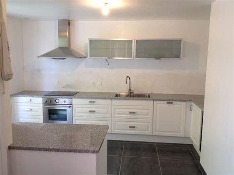 fa軋de de cuisine sur mesure devis plan de travail com granit quartz marbre plan de cuisine sur mesure