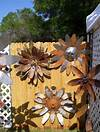 Metal Garden Art on Pinterest | Metal Yard Art, Garden Art rusty metal flowers garden art