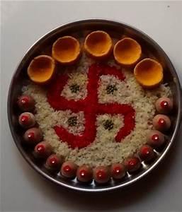 Pooja Ki Thali Decoration for Diwali - Pooja Thali Aarti