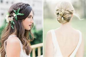 Bridal Hairstyles With Fresh Flowers HairStyles