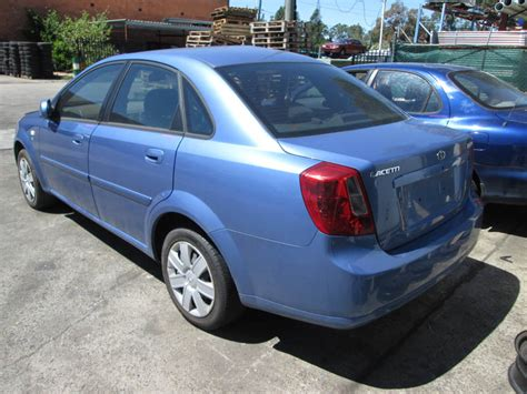 » Wrecking Daewoo Lacetti 1.8i -a- Blue For Spare Car Parts