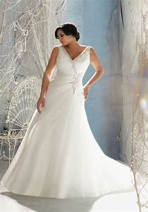crystal beaded fit and flare plus size wedding gown With plus size fit and flare wedding dress