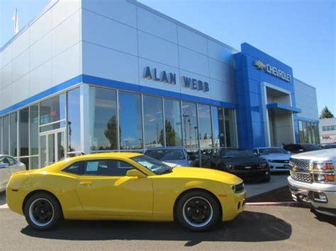 alan webb chevrolet car dealership  vancouver wa