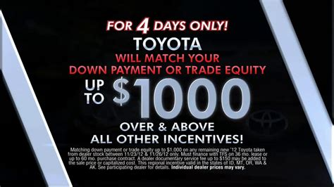 toyota black friday event tv commercial ispottv