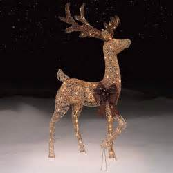outdoor decorations reindeer best gifts and decorations
