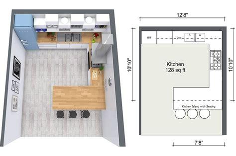 Diy Kitchen Island Ideas - 4 expert kitchen design tips roomsketcher blog