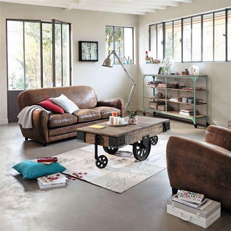 meubles et d 233 coration de style industriel loft factory maisons du monde industrial look