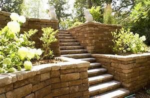 Portland retaining wall ideas landscape craftsman with