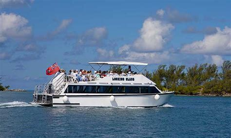 Glass Bottom Boat Cruise Bermuda by Onboard Experience Royal Caribbean International