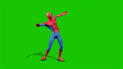 Spiderman Dances D Model Animated PixelBoom