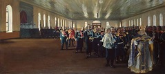 Boris Mikhailovich Kustodiev - Church Parade Of The Finnis ...