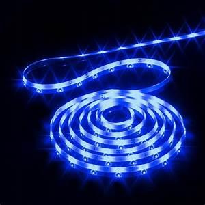 Guirlande Lumineuse Exterieur Professionnel : ruban lumineux 4 m bleu 120 led guirlande lumineuse eminza ~ Teatrodelosmanantiales.com Idées de Décoration