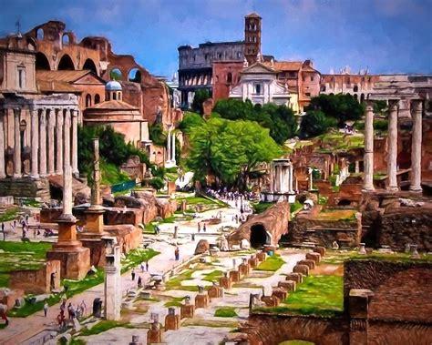 foto de Forum Romanum Impression Photograph by Re Dub
