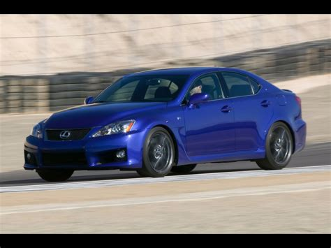 Lexus Is F Blue