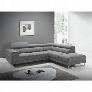 canape d39angle cote droit design 5 places avec meridienne With tapis design avec canape chesterfield meridienne