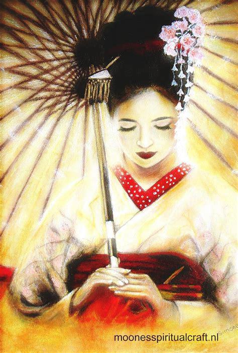 geisha japanese japan beauty geishas side painting actress oriental sayuri metaphors mind secrets negative memory arts portrait artist traditional simple