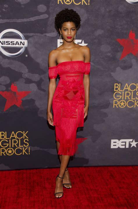 ebonee davis  bet black girls rock  newark  hawtcelebs