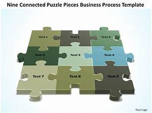 Business Powerpoint Templates Nine Connected Strategy