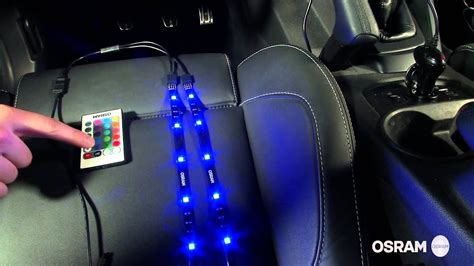 osram ledambient tuning lights video tutorial youtube
