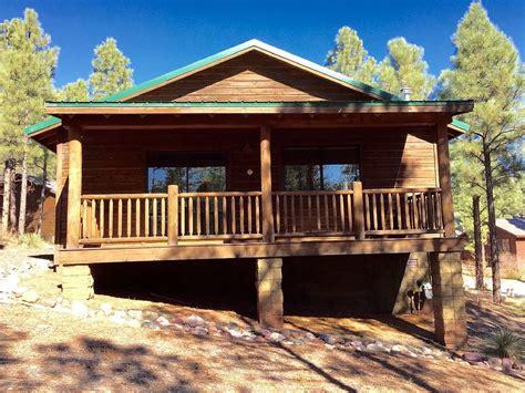 arizona cabin rentals hillside hideaway show low az white mountain cabin