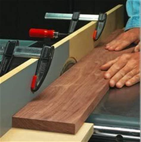 table  jointer jig sacrificial fence   mdf