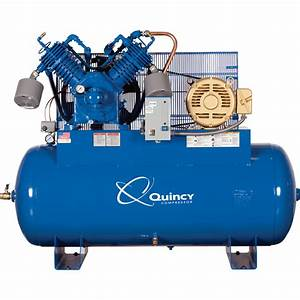 Quincy Compressor Qp Pressure Lubricated Reciprocating Air