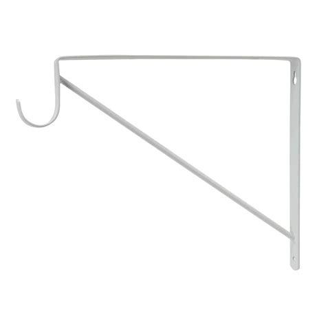 everbilt white heavy duty shelf and rod support shop