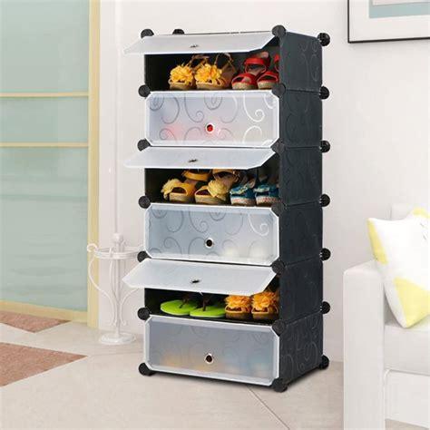 Shoe Rack Cube Organizer Diy Plastic Storage Organizer