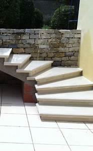 Revetement Escalier Exterieur : escalier en ciment ext rieur id e ~ Premium-room.com Idées de Décoration