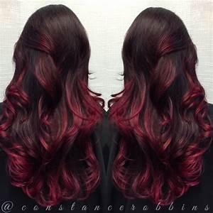 Ombré Hair Rouge : ombr hair rouge acajou ~ Melissatoandfro.com Idées de Décoration