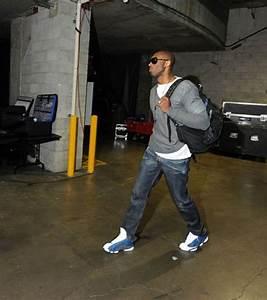Kobe wearing Jordan 13 u0026quot;Flintu0026quot; | Street Outfit | Pinterest ...