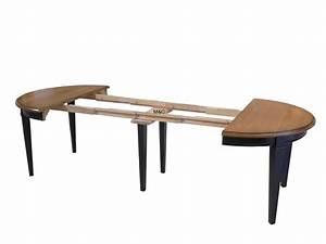 Table Rallonge Bois : table ronde avec rallonges ~ Teatrodelosmanantiales.com Idées de Décoration