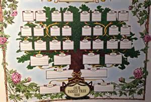 Decorative Family Tree Chart