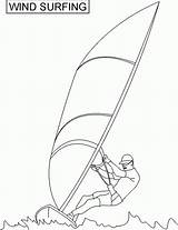 Coloring Pages Surf Surfer Surfing Printable Comments Printables Coloringhome sketch template