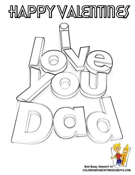 love  dad coloring pages coloring home