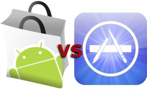 iphone app marketing smackdown android market vs iphone app store pcworld