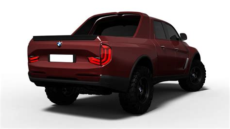 bmw pickup truck design study  doesnt   bad