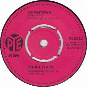 Downtown Petula Clark Song Wikipedia
