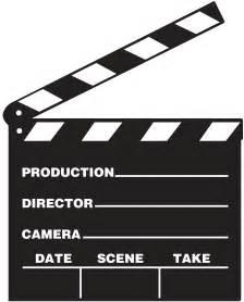 Movie Director Clap Board